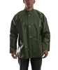 J22208 - Tingley Iron Eagle Green Jacket with Storm Fly Front and Hood Snaps