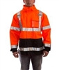 J24129 - Tingley Icon Class 3 Fluorescent Orange-Red Jacket - XL