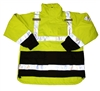 J24172 - Tingley Icon 3.1 Fluorescent Yellow-Green Fleece Line Jacket - SM