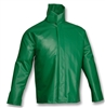J41108 - Tingley Safetyflex Green Jacket with Storm Fly Front and Attached Hood