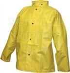 J56207 - Tingley Durascrim Yellow Jacket with Storm Fly Front and Hood Snaps