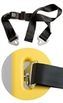 JSA-360-SS - Junkin Safety Seatbelt Strap w/ Speed Clips