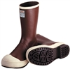 "MB922B - Tingley 12-1/2"" Neoprene Snugleg Steel Toe Boot Chevron Brick Red"