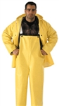 O53107 - Tingley Industrial Work Yellow Overall Fly Front