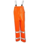 O53129 - Tingley Comfort-Brite Fluorescent Orange-Red Overalls