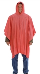 P68809 - Tingley Orange Poncho Retail Packaged
