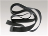 "PSS-4000 - Sentry Park Sentry® 158"" adjustable reflective cinch straps - Without Strap Locking Buckle - Black"