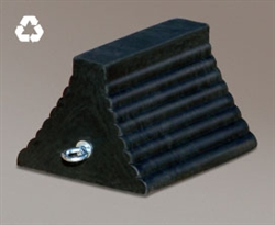 RC815 - Checkers® Roadblocks™ 815 Series Rubber Wheel Chock with Bottom Void