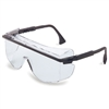 S2500 - Uvex Astro OTG Safety Glasses, Black Frame, Clear Lens