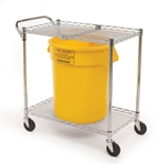 SE-4360 - Speakman Transport Cart for SE-4300 Series Gravityflo Eyewashes w/ Fluid Collection Bucket