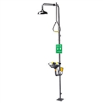 SE-625 - Speakman Stay Open Shower w/ Pull Rod Activation, Stainless Steel SE-490 Eye/Face Wash