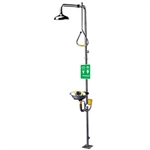 SE-626 - Speakman Stay Open Shower w/ Pull Rod Activation Stainless Steel SE-582 Eye/Face Wash