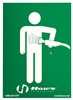 SP176 - Haws Universal Emergency Body Spray Sign