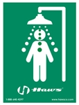 SP177 - Haws® Universal Emergency Shower Sign
