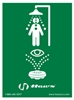 SP178 - Haws Universal Emergency Shower and Eyewash Sign