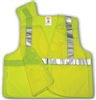 V70622 - Tingley Fluorescent Yellow-Green Vest with Hook and Loop Closure and 2 Pockets